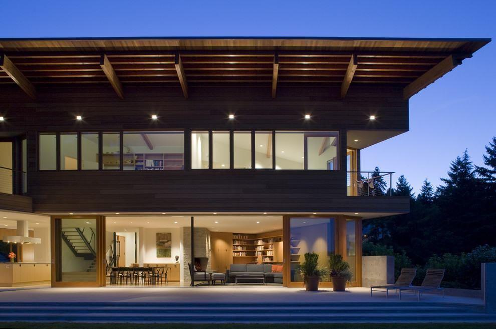 varanda-ao-redor-5-lado CASAS Pinterest - plan de maison en v gratuit