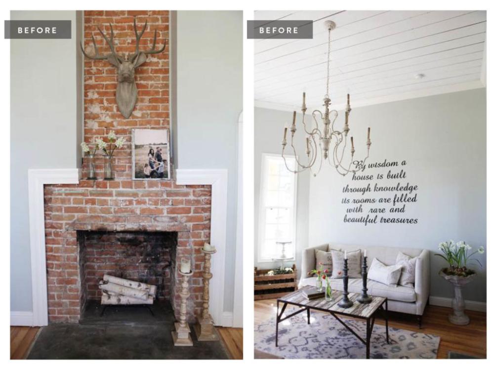 foto de A Look Inside Our Farmhouse | Industrial dining chairs, Farmhouse ...