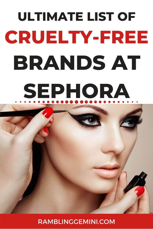 Ultimate List of CrueltyFree Brands at Sephora in {2020