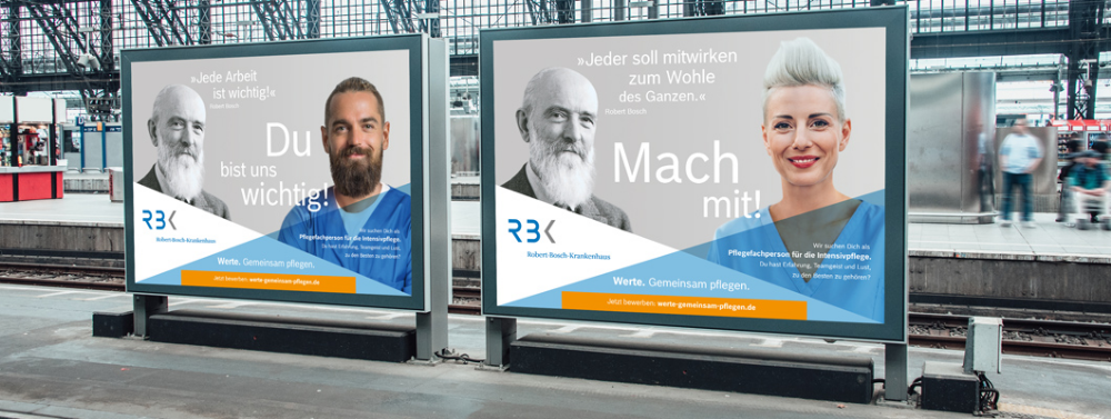 Employer Branding Und Recruiting Kampagne Robert Bosch Krankenhaus Employer Branding Krankenhaus Kampagne