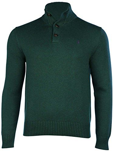POLO RALPH LAUREN Polo Ralph Lauren Men'S 3 Button Mock Neck Sweater. #poloralphlauren #cloth #
