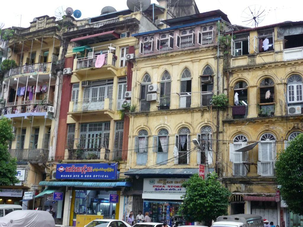 Colonial-era buildings in Yangon, Myanmar | House styles ...