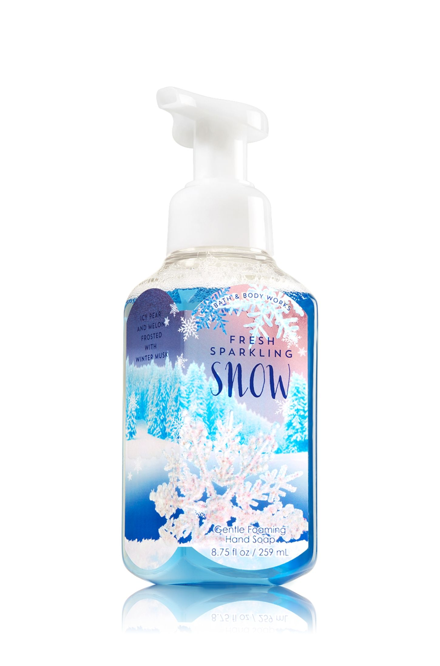 Fresh Sparkling Snow Gentle Foaming Hand Soap Soap Sanitizer