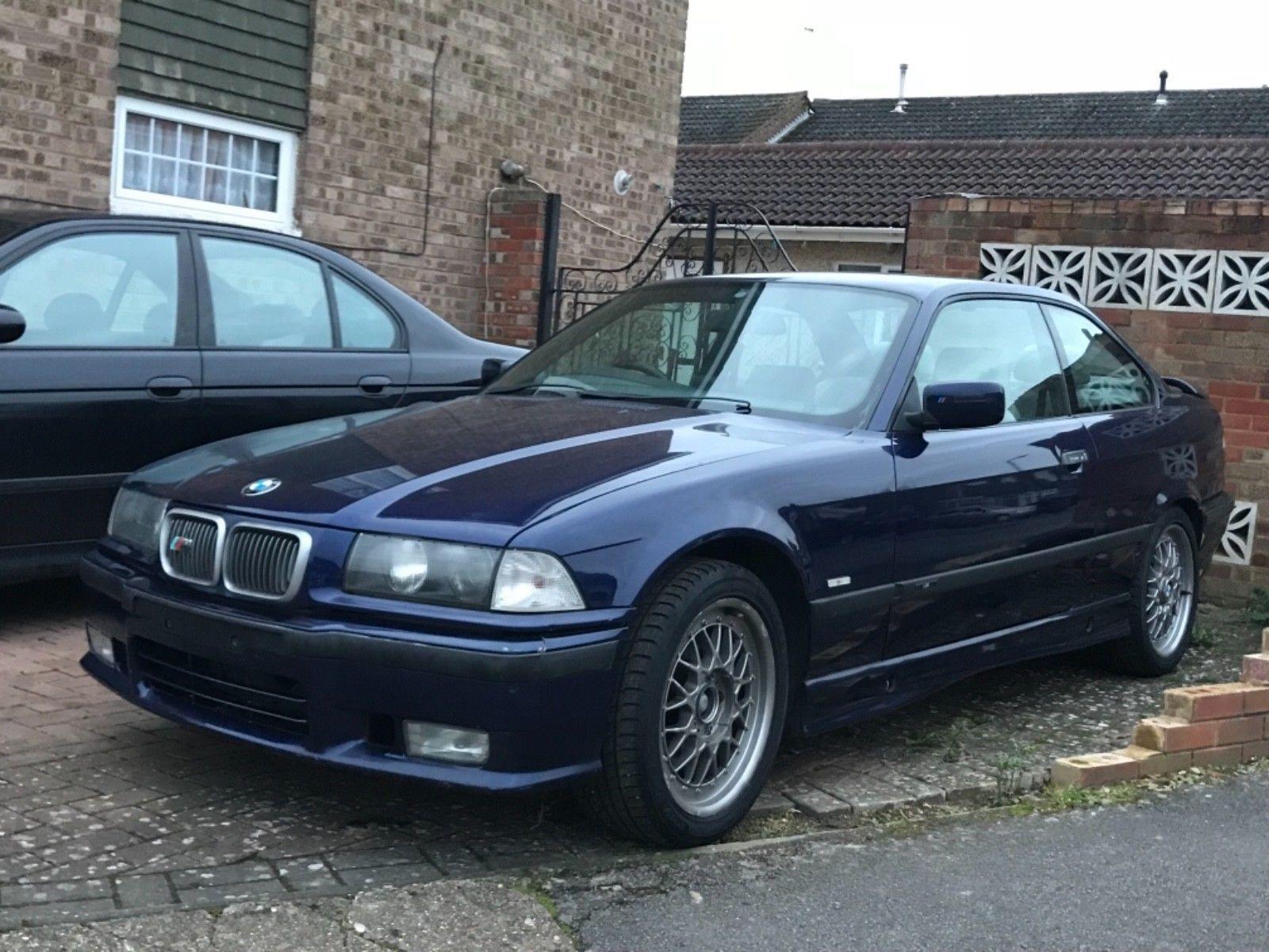eBay BMW 328i SPORT 1997 MONTREAL BLUE 118k MILES AUTOMATIC E36