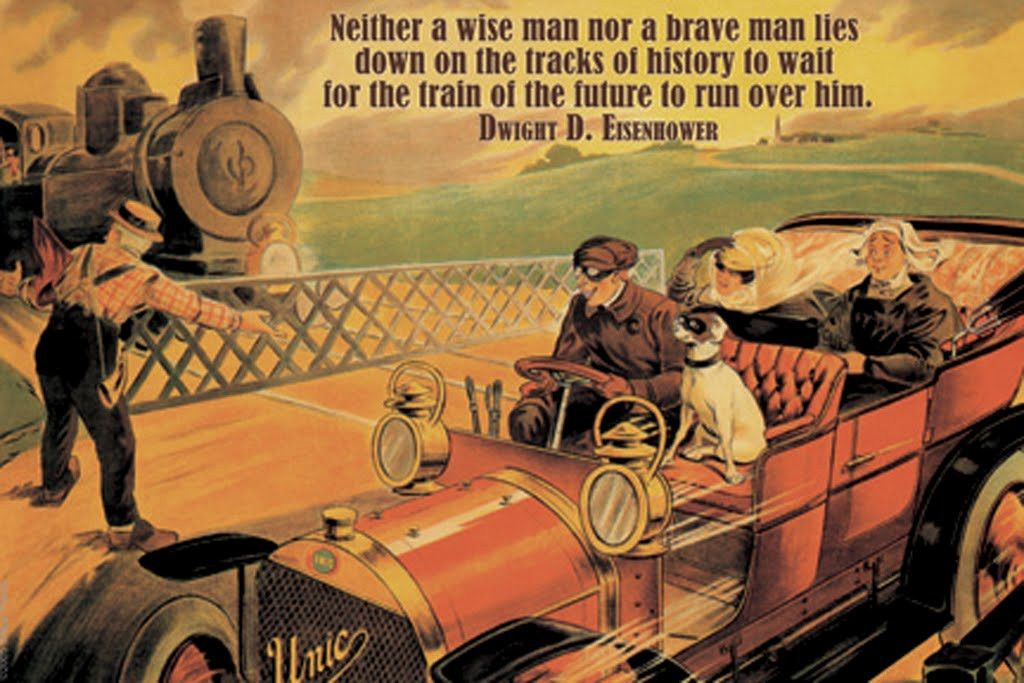 Neither a Wise Man Nor a Brave Man - Dwight D. Eisenhower