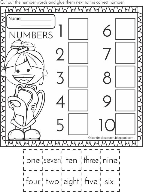 Learn your Numbers 1-10   Trabajos para preescolar, Golf y Trabajo para