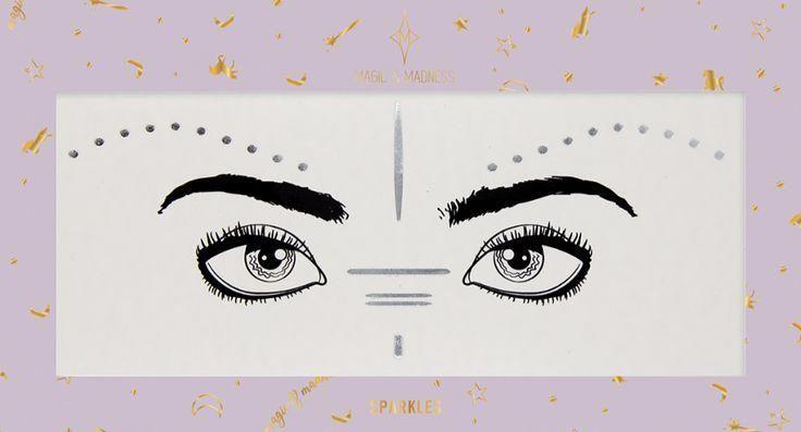 Magie und Manifest Burning Girl Face Tattoo in verschiedenen Farben – – #Burning #fac …