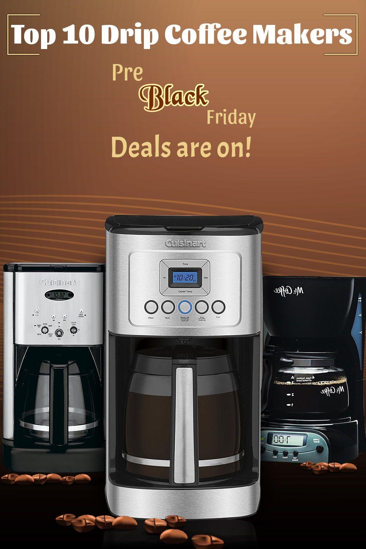 Drip Coffee Makers Black Friday Pre Blackfriday