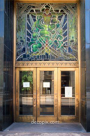 Decopix The Art Deco Architecture Site Art Deco Glass Gallery
