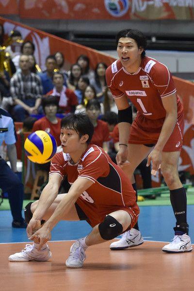 Masahiro Yanagida Photos Photos Japan V Venezuela Men S World Olympic Qualification Tournament Japan Volleyball Team Volleyball Poses Mens Volleyball