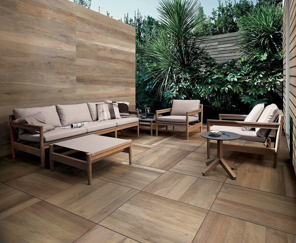 Kronos WoodSide Oak Doga X Cm Feinsteinzeug Holzoptik - Fliesen in holzoptik 60x60