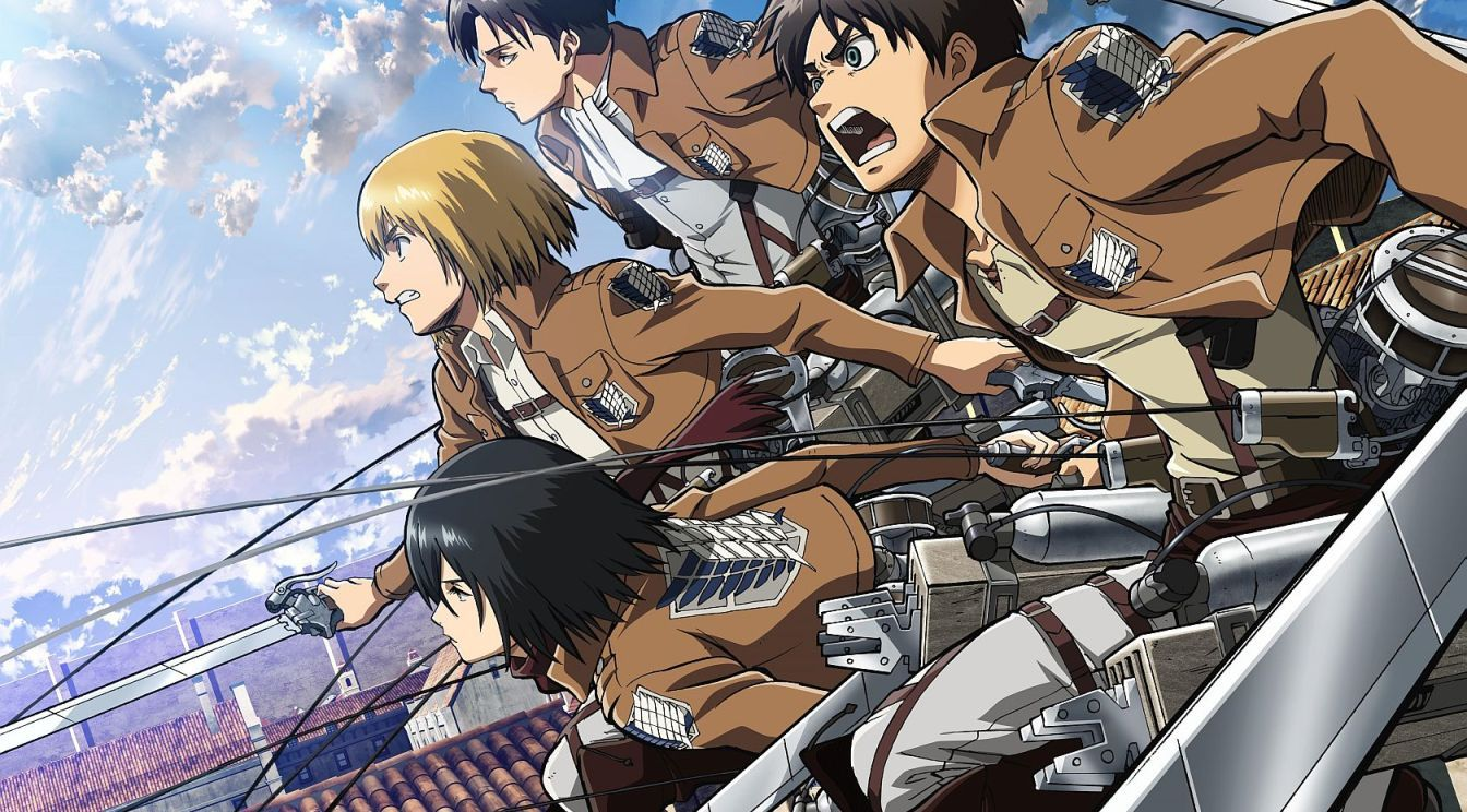 Anime List (With images) Animes to watch, Titans anime