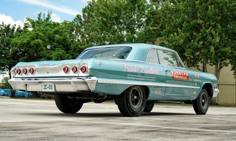 1962 Chevrolet Impala Z11 Vintage Muscle Cars Chevrolet Drag Racing Cars
