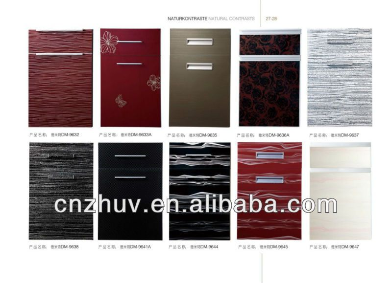 Ordinaire Waterproof Kitchen Cabinet Doors Buy Pvc Home Cabinets Modern Cheap