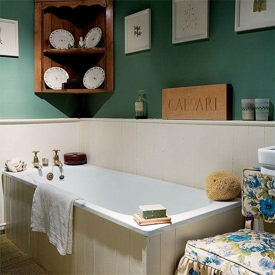 Suffolk Landhaus Gäste-WC Wohnideen Badezimmer Living Ideas - dänisches bettenlager badezimmer