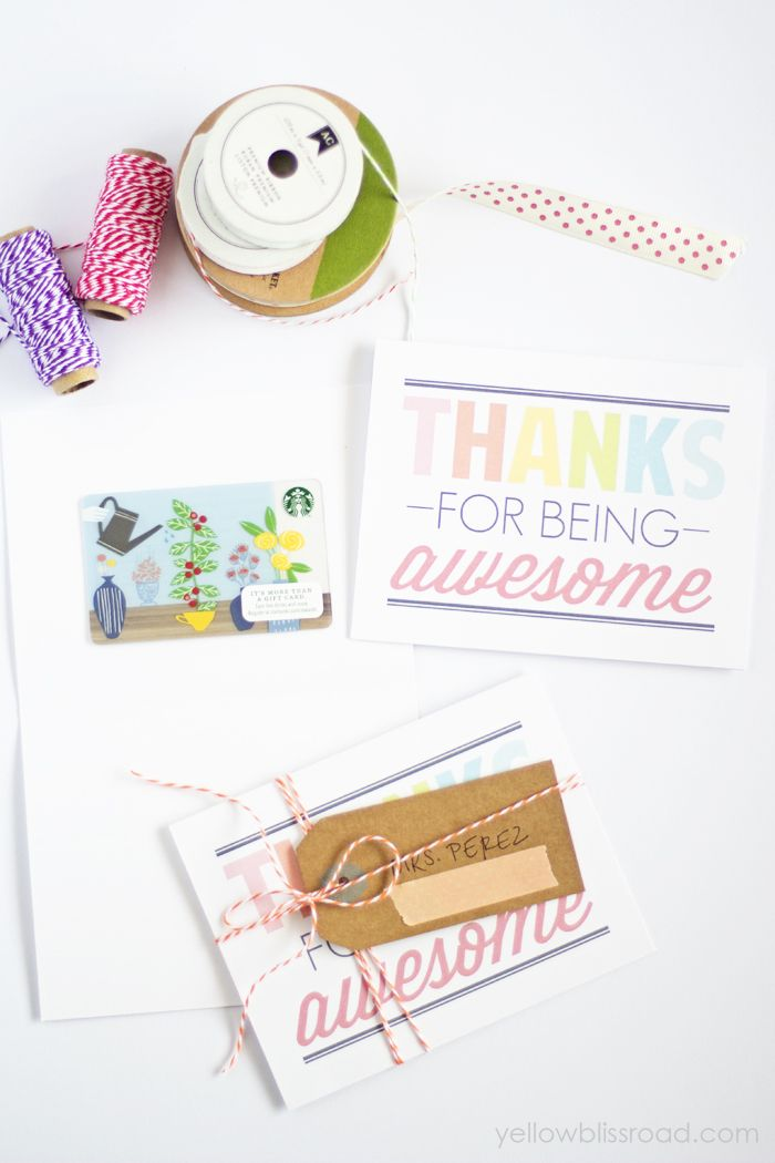 Free Printable Thank You Notes  Free Printable Bliss And Note