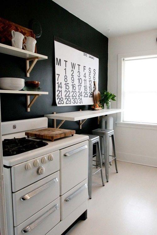 mesas para cocinas pequeñas 5 | Deco | Pinterest | Cocina pequeña ...
