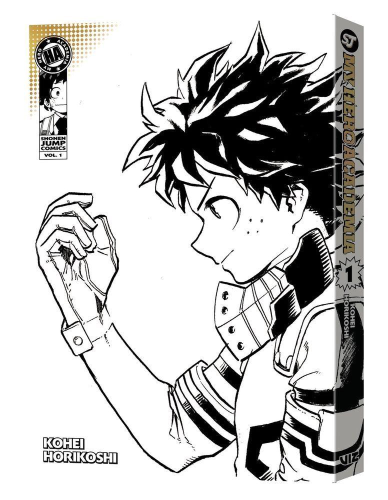 My Hero Academia Vol  1 Manga Variant Cover Kohei Horikoshi SDCC