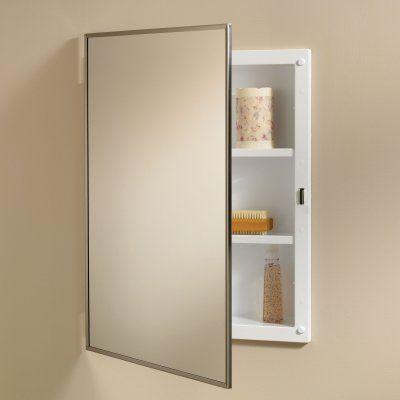 Jensen Medicine Cabinet Styleline 16w X 22h In Recessed 84018ch Bathroom