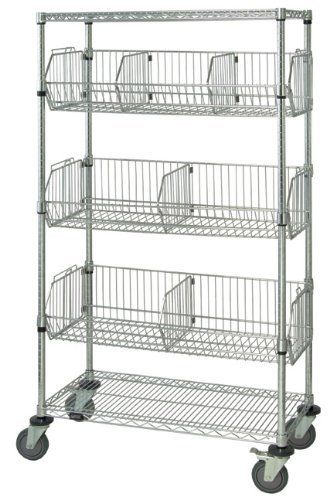 Pin By Beyond 21 Boutique On Keeping It All Together Wire Shelving Storage Stationary Storage