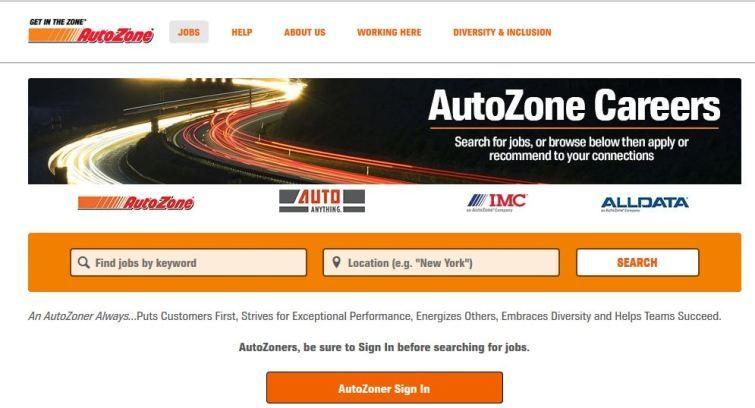 Autozone Careers Application Login Job Help Digital Trends Find A Job