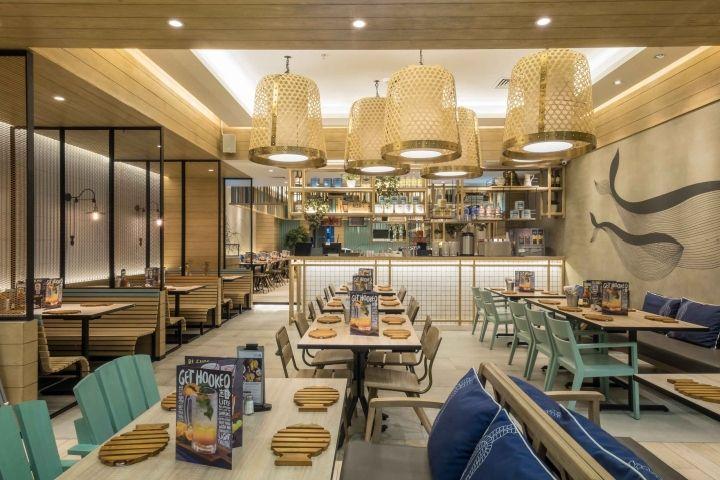 Fish Co 2 Restaurant By Metaphor Interior Architecture Jakarta Indonesia Retail Design Blog
