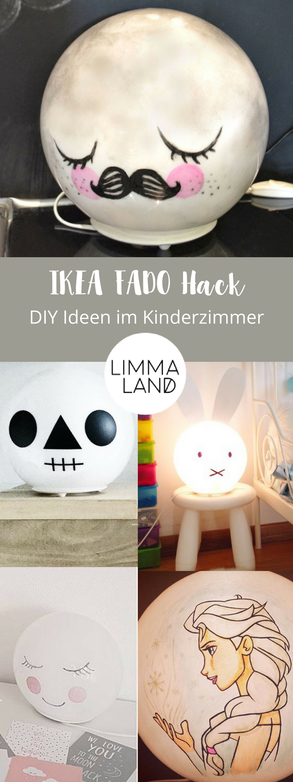 ikea fado hack eine lampe mit vielen gesichtern pinterest ikea hacks hacks und da sein. Black Bedroom Furniture Sets. Home Design Ideas