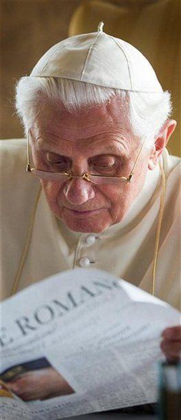 LAS CARTAS SECRETAS DEL PAPA BENEDICTO XVI - via http://bit.ly/epinner