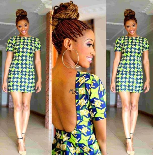 une robe simple et jolie