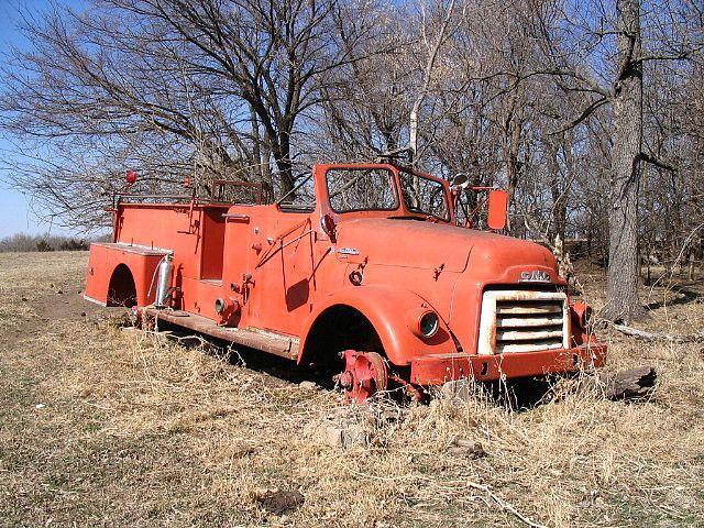 1950 Gmc Firetruck Fire Trucks Gmc Trucks Trucks