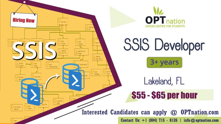 We're Hiring SSIS Developer in Lakeland, FL. Build your