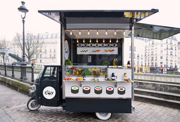 COY Sushi Food Truck | ห้องแถว, เครื่องดื่ม, อาหารริมทาง