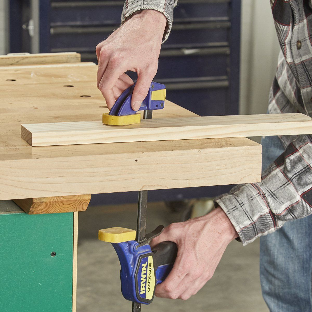 trigger-style bench clamps | tools | pinterest | woodworking