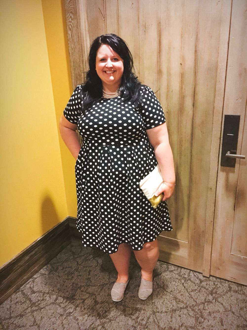 lularoe amelia dress, plus size fashion | katie loves lula | plus