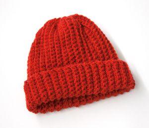 Free Crochet Pattern Child S Easy Crochet Hat Lion Brand
