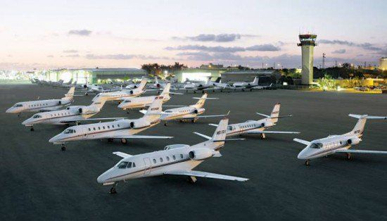 Image result for private jets at davos