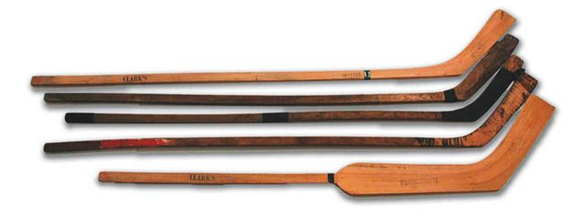 Antique And Vintage Hockey Sticks