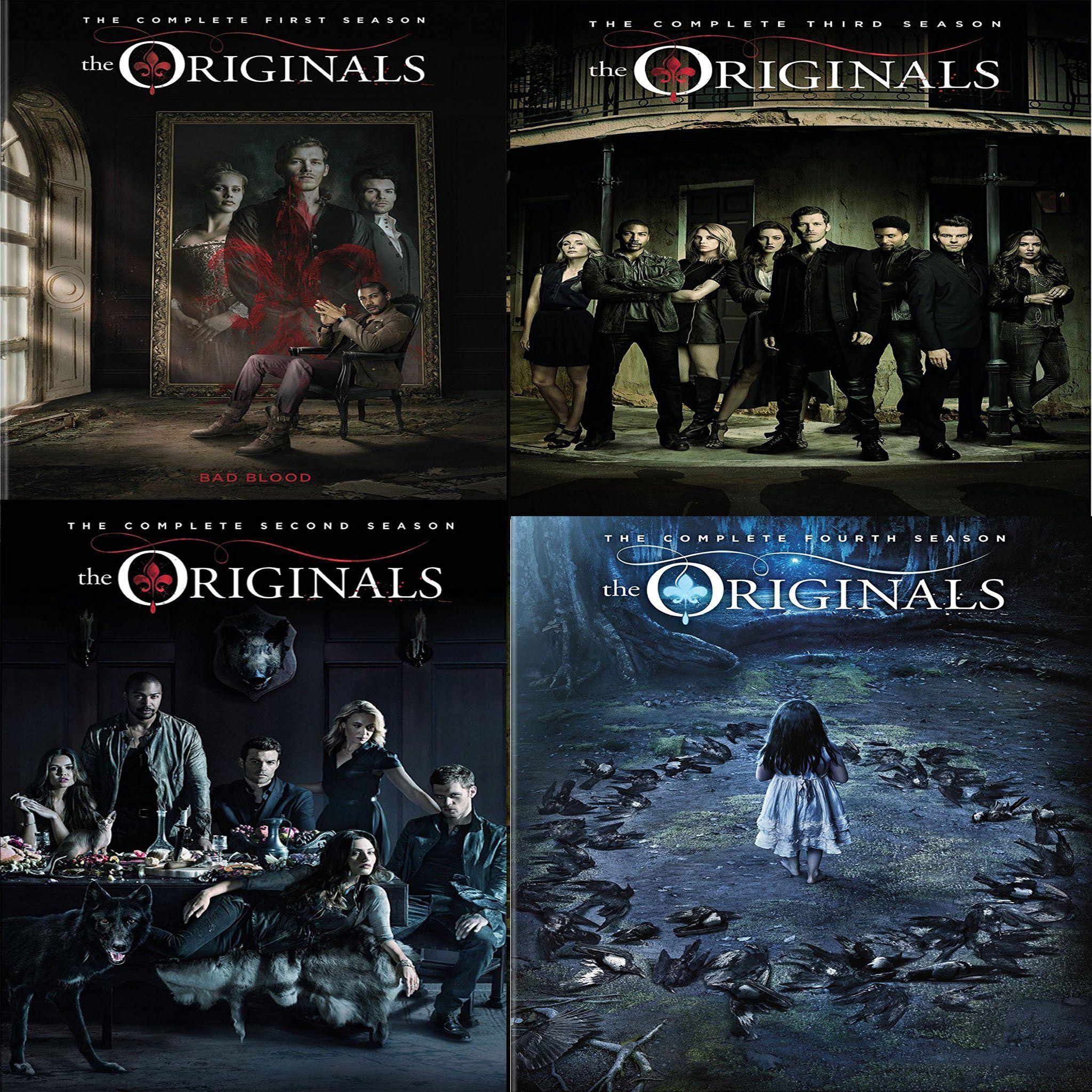 The Originals Dvd Seasons 1 5 Set Vampire Diaries The Originals The Originals Vampire Diaries