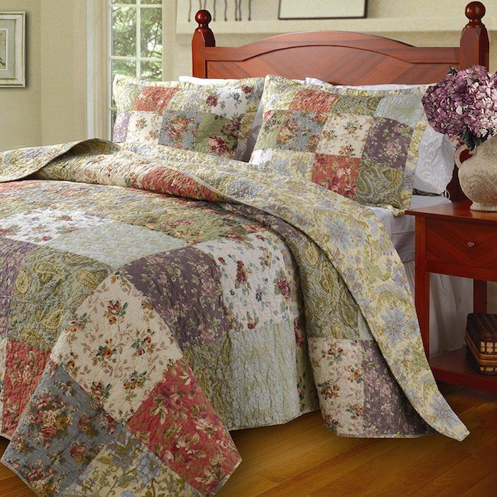 1001 ideen f r patchworkdecke mit n hanleitung n hen pinterest einfache n hideen bunte. Black Bedroom Furniture Sets. Home Design Ideas
