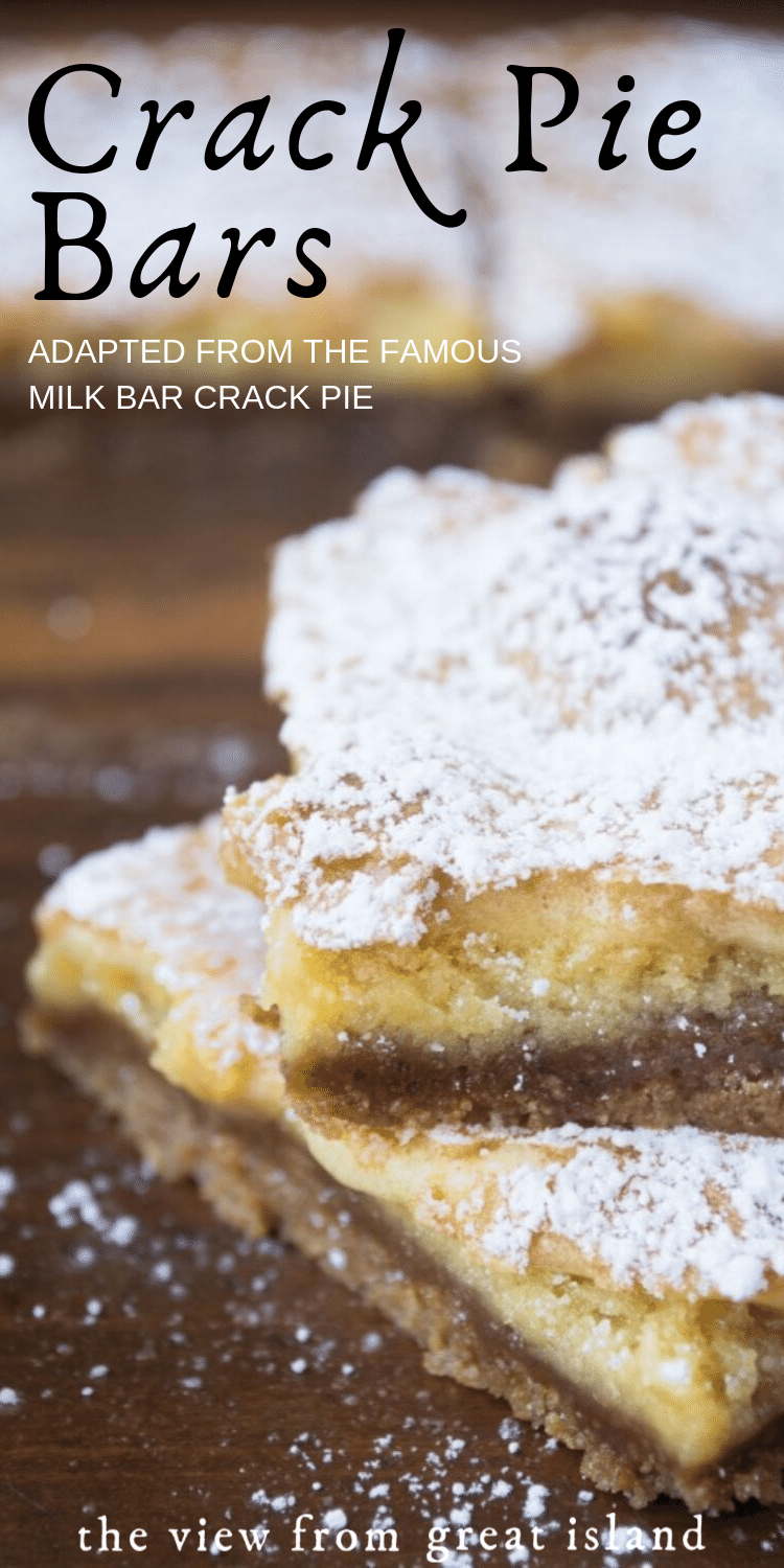 Crack Pie Bars -   14 desserts Bars restaurant ideas