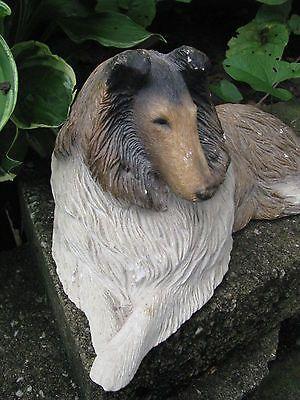 Sandicast Collie Dog Figure Figurine Doorstop
