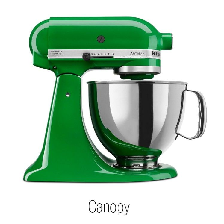 5qt artisan stand mixer available in 30 colors