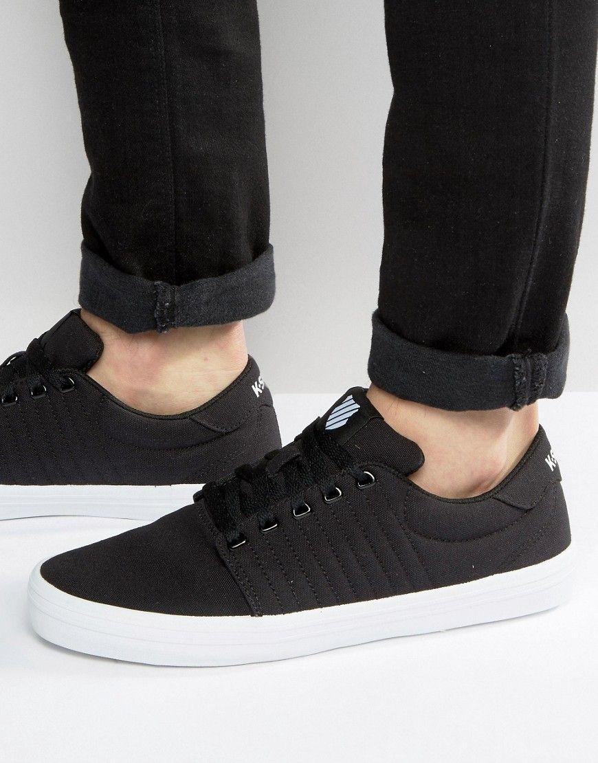 K-Swiss Backspin Sneakers In Black
