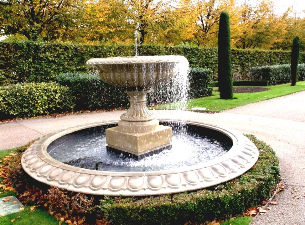 Merveilleux Fashionable Front Yard Fountains