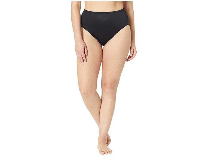 4528fae81e33c Miraclesuit Solid 19 Basic Bikini Brief Bottom Women's Swimwear ...