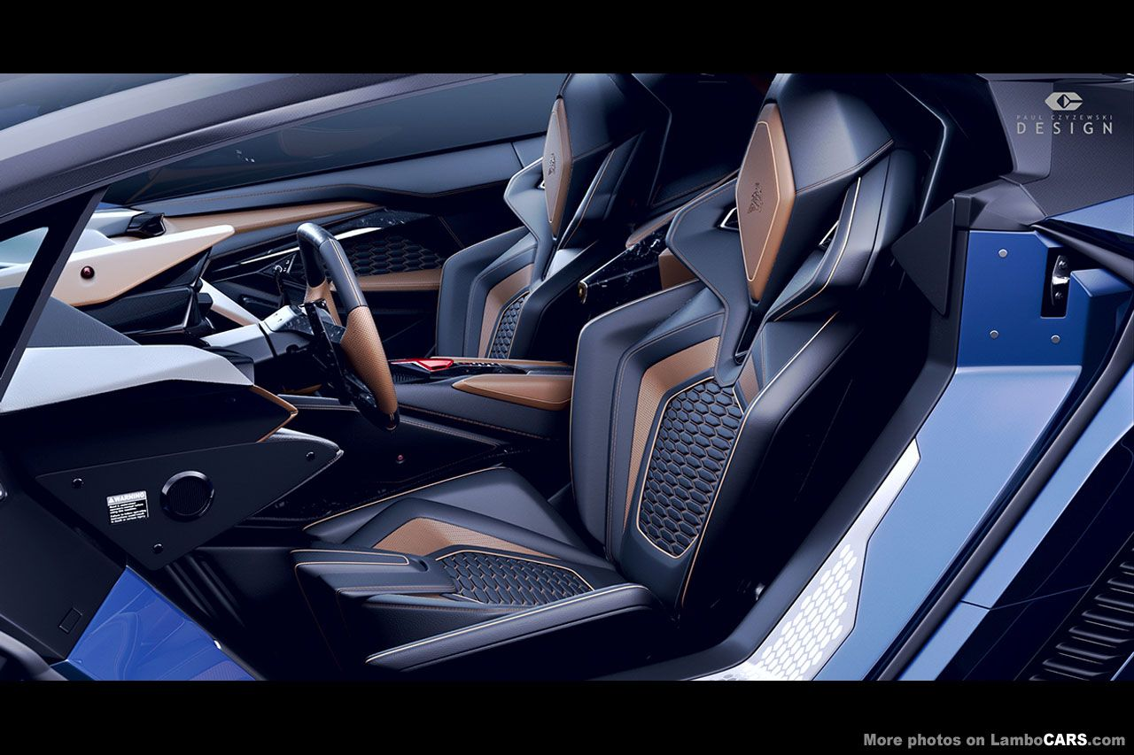 Lamborghini car seat design google car seat for Car interior decoration