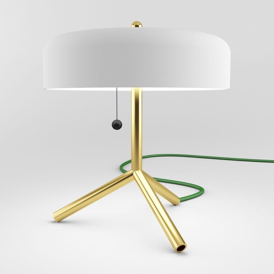 Jonah takagi fka table lamp brass base matter made light jonah takagi fka table lamp brass base matter aloadofball Choice Image