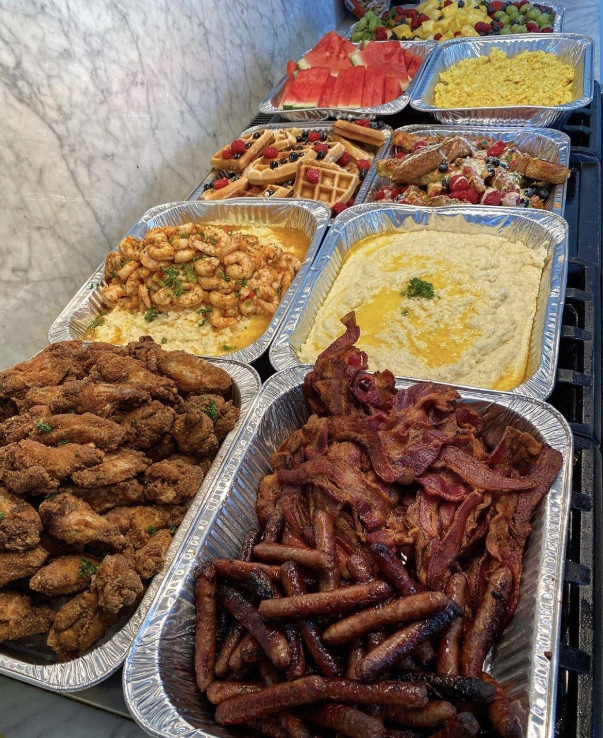 𝑷𝒊𝒏𝒕𝒆𝒓𝒆𝒔𝒕 Mayaxxgarcia In 2020 Buffet Food Food Cravings Food Recipies