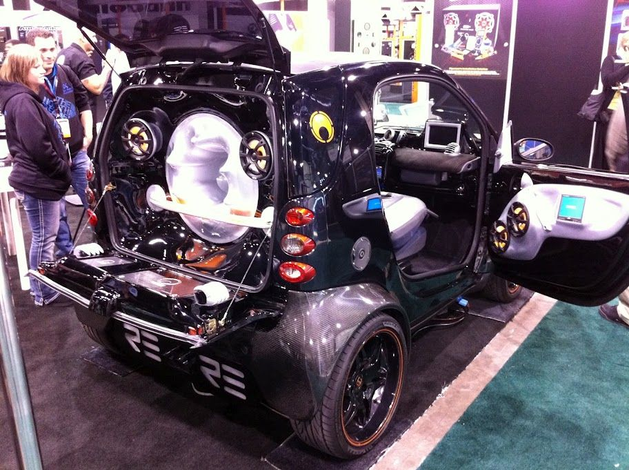 Fully Pimped Smart Car