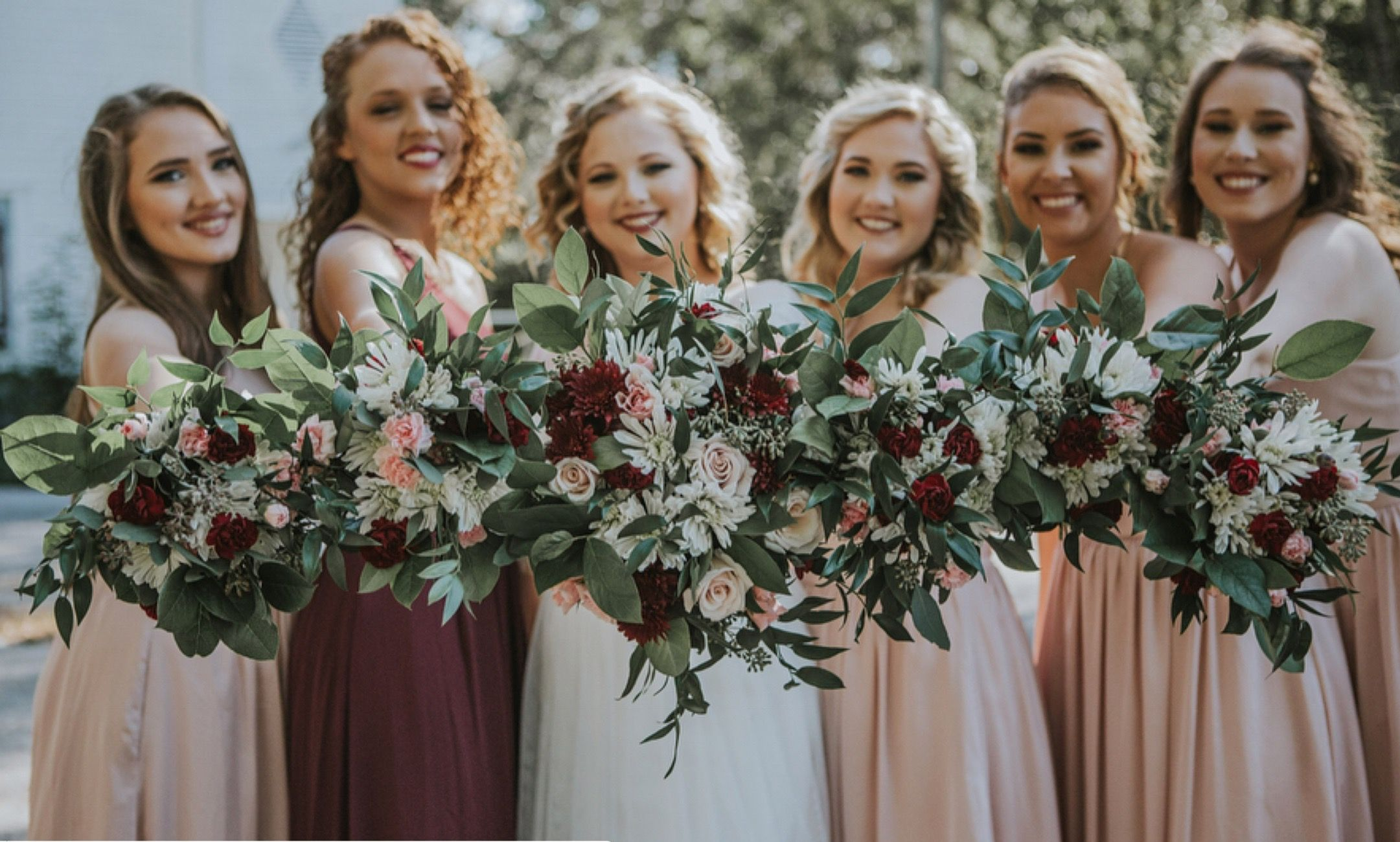 Bride And Bridesmaids Bouquets That Will Make Your Heart Happy